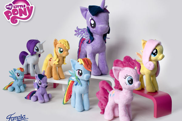 Hasbro en version peluches